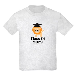 Class of 2029 Graduate (lion) Kids Light T-Shirt