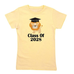 Class of 2028 Graduate (lion) Girl's Tee