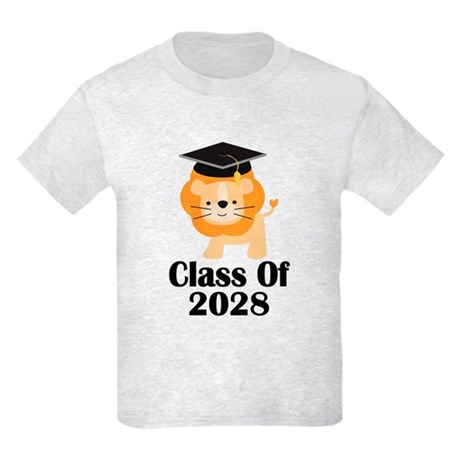 Class of 2028 Graduate (lion) Kids Light T-Shirt