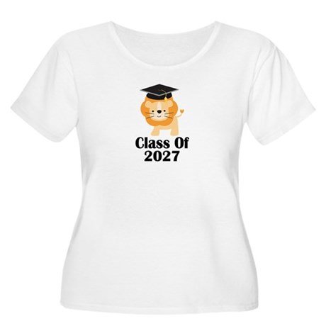 Class of 2027 Women's Plus Size Scoop Neck T-Shirt