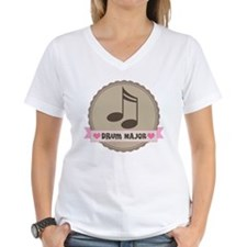 Marching Band Drum Major Music T-Shirt