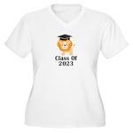 Class of 2023 Gra Women's Plus Size V-Neck T-Shirt