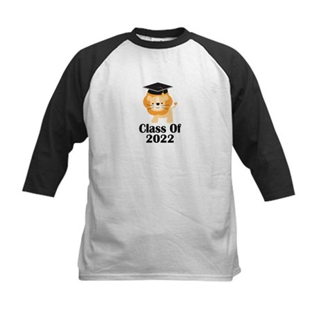 Class of 2022 Graduate (lion) Kids Baseball Jersey