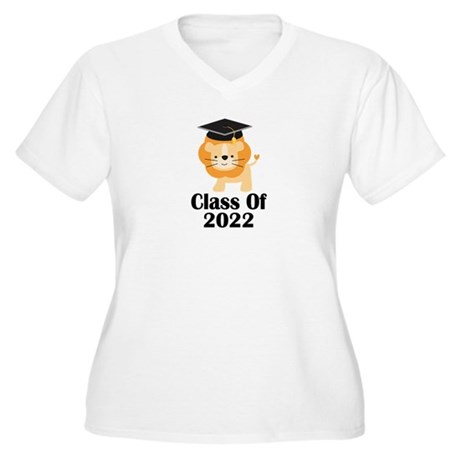 Class of 2022 Gra Women's Plus Size V-Neck T-Shirt