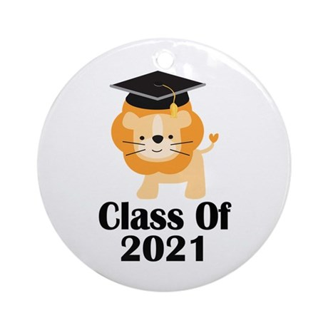 Class of 2021 Graduate (lion) Ornament (Round)