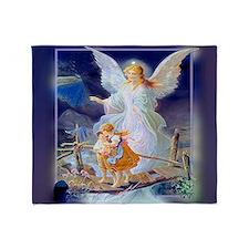 Guardian Angel and Children Crossing Bridge Throw