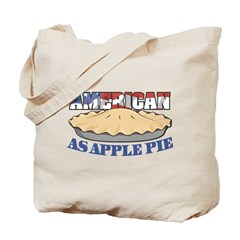 American As Apple Pie Tote Bag