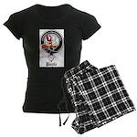 Boyle Clan Badge Crest Women's Dark Pajamas
