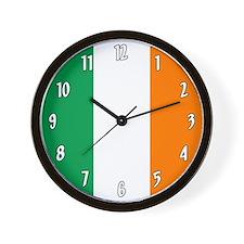 Flag of Ireland Wall Clock