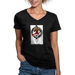 Darroch.jpg Women's V-Neck Dark T-Shirt