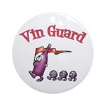 Vin Guard Wine Ornament (Round)