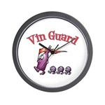 Vin Guard Wine Wall Clock