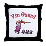 Vin Guard Wine Throw Pillow