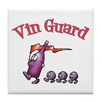 Vin Guard Wine Tile Coaster