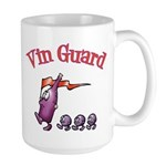 Vin Guard Wine Large Mug
