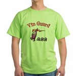 Vin Guard Wine Green T-Shirt