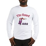 Vin Guard Wine Long Sleeve T-Shirt