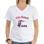 Vin Guard Wine Women's V-Neck T-Shirt