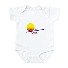 Amani Infant Bodysuit