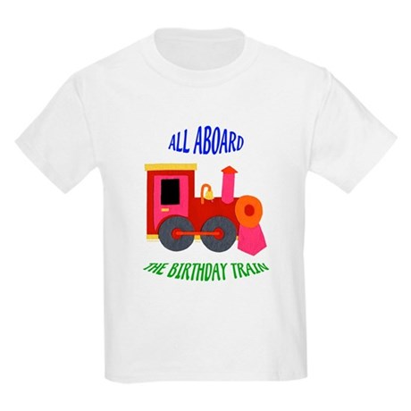 Train Birthday Kids Light T-Shirt