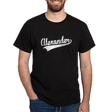 Alexander, Retro, T-Shirt