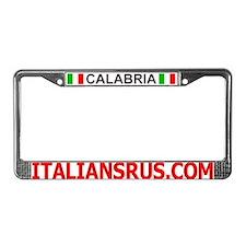 Calabria License Plate Frame