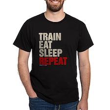 Train Eat Sleep Repeat T-Shirt