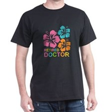Hibiscus Retired Doctor T-Shirt