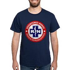 Registered Nurse (red-blue) T-Shirt