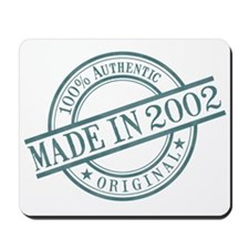 Made in 2002 Mousepad