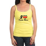 I love Costa rica Ladies Top