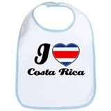 I love Costa rica Bib