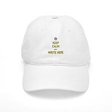 Keep Calm customisiable Baseball Cap