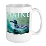 Large Maine Loon Mug