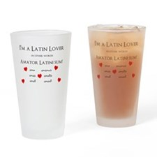 Latin Lover_Hearts Drinking Glass