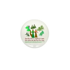 Ruth and Naomi Mini Button (100 pack)