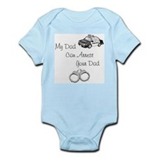 Police baby Infant Bodysuit