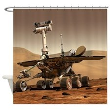 Mars Curiosity Rover Shower Curtain