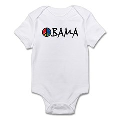 Obama Peace Infant Bodysuit