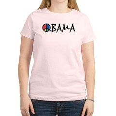 Obama Peace Women's Light T-Shirt