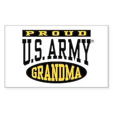 Proud U.S. Army Grandma Decal