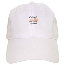 SOMEONE I LOVE NEEDS A CURE LEUKEMIA Baseball Baseball Cap