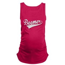 Beemer, Retro, Maternity Tank Top