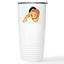 Nude Pin Up Ceramic Travel Mug