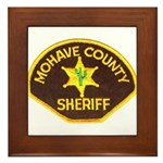 Mohave County Sheriff Framed Tile