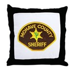 Mohave County Sheriff Throw Pillow