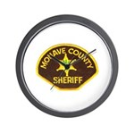 Mohave County Sheriff Wall Clock