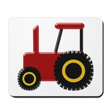 Red Tractor Mousepad