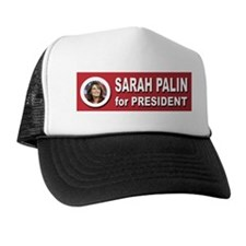 Sarah Palin for President 2016 Trucker Hat