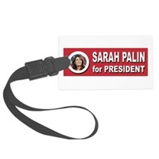 Sarah Palin for President 2016 Luggage Tag